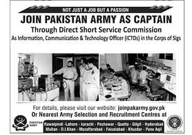 Pak Army ICTO