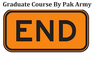 Pak Army Graduate Course