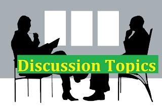 ISSB Discussion Topics